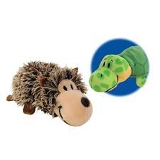 "FlipaZoo Stuffed Animal 16"" Hedgehog to Turtle Flip a Zoo Pillow, New with Tags"