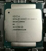 Intel Xeon E5-2680V3 CPU 12-Core 2.5GHz SR1XP 30MB 120W LGA 2011-3 Processor