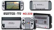 Nintendo Switch Console Joy-Con Skin Sticker Cover #329 Super Famicom a F01