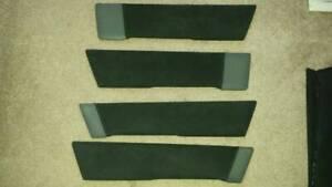 Volvo 850R 850 R Oem Set Genuine Door Cards Panel Inserts Suede/Leather Rare