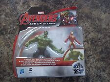 MARVEL ACTION FIGURES HULK AND IRON MAN AVENGERS MINT IN BOX