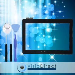 Vitre ecran tactile pour Asus Transformer Book T100TAM noir