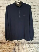 Men's THE NORTH FACE Sweater A5 SERIES Wool Blend 1/4 Zip Black Size XL Pullover