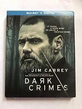Dark Crimes BLU-RAY/with SLIPCOVER Jim Carrey 2018