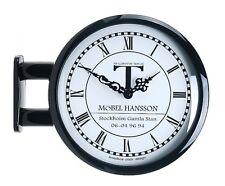 Modern Art Design Double Sided Wall Clock Station Clock Home Decor - M0604Black