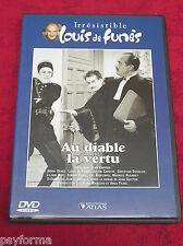 DVD Au Diable la Vertu / Louis De FUNES - Henri GENES / comme neuf