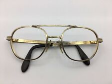 Gold Airco Aviator Eyeglasses 52-20-140 Vintage 1960's Made In USA