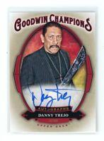 2020 Upper Deck Goodwin Champions Danny Trejo Auto Autograph A-DT