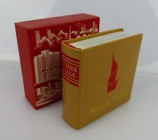 Mini libro: distrito halle-Offizin andersen Nexö Leipzig bu0359