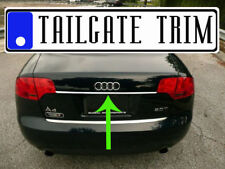 Audi A4 2002 03 04 05 06 07 08 09 2010-2016 Chrome Tailgate Trunk Trim Molding