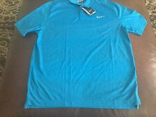 Nike Golf Tour Performance men's blue dri-fit polo shirt, size L ,NWT,MSRP$85