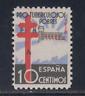 ESPAÑA (1938) NUEVO SIN FIJASELLOS MNH SPAIN - EDIFIL 866 (10 cts) LOTE 1