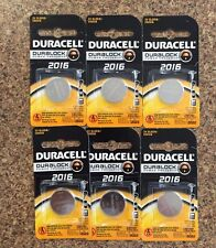 Lot of 36 Duracell DL2016 3V BATTERIES Best Before DEC 2022
