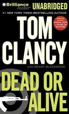 DEAD OR ALIVE unabridged audio book on CD by TOM CLANCY (21 Hours!) Brand New!