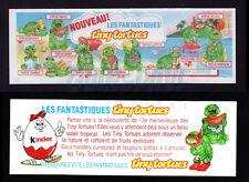 100% Originale Kinder Ferrero Cartina Cartine BPZ Ü-Ei Tiny tortues nouveau