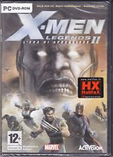 PC Gioco **X-MEN LEGENDS 2 II ♦ L'ERA DI APOCALISSE** nuovo italiano sigillato