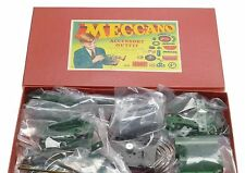 MECCANO MAGIC MOTORS DOUBLE ANGLE FORMED SLOTTED STRIPS GIRDERS SCREWED RODS BOX