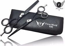 FW ® - Professionali Da Parrucchiere Barbiere Capelli Taglio Diradamento Forbici Set 5.5
