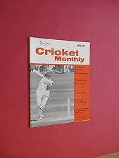 PLAYFAIR CRICKET MONTHLY. AUGUST 1968. ILLUSTRATED MAGAZINE.