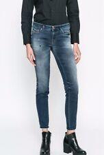 Diesel GRACEY-NE Ladies Sweat Jeans Blue Sweatpants 0686w Size W27