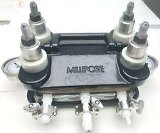 Millipore Pellicon 2 Cassette Filter Acrylic Permeate Retentate Holder 045um
