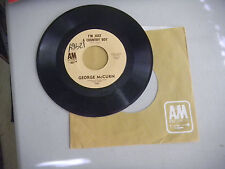 GEORGE MCCURN i'm just a country boy / in my little corner of the world A&M   45