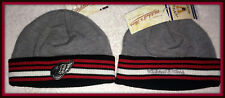 DETROIT RED WINGS REEBOK MITCHELL & NESS EMBROIDERED STOCKING CAP HAT ADULT NWt