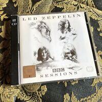 LED ZEPPELIN BBC SESSIONS 2 x cd hard rock Robert Plant