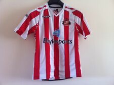 SUNDERLAND A.F.C. Official Boy Shirts by Umbro Size: MB ,EUR 146cm