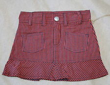 Checked 100% Cotton Skirts (0-24 Months) for Girls