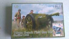 IBG/AZIMUT 1/35 Batterie 75 mod 1938 avec caisson et 6 figurines- France 40