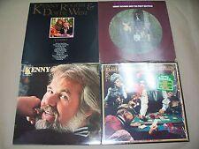 ##VINYL RECORD ALBUM,KENNY ROGERS LOT,TRANSITION,W/ POSTER,THE GAMBLER,DOTTIE