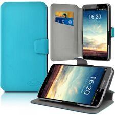 Etui Porte-Carte Support Universel L Bleu Clair pour Samsung Galaxy Note 8