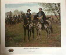 Bradley Schmehl's - Toward a Greater Peace, Civil War, Rare APP S/N 34/75