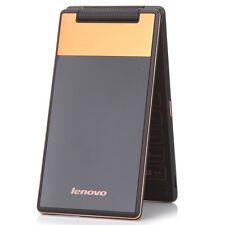 Lenovo A588T Dual Sim Flip 4GB Quad Core Mobile Phone 2G GSM Unlocked Golden