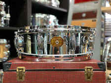 "1970's Gretsch 4160 5""x14"" Chrome over Brass Snare Drum"