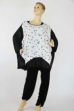 Damen-Shirts in Übergröße aus Viskose keine Mehrstückpackung