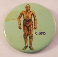 Vintage Star Wars Collectors Pin Pinback Badge C-3PO