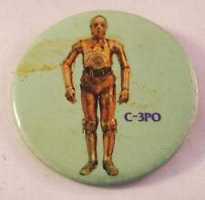 Vintage Star Wars Collectors Pin Pinback Badge C-3PO