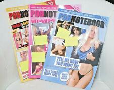 Scherzartikel Notizheft A4 Sex-Heft Pornoheft Erotikmagazin - innen leere Seiten