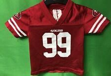 B273 NFL San Francisco 49ers DeForest Buckner #99 Toddler Jersey 18 months