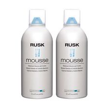 2 pcs .Rusk Mousse-Maximum Volume and Control 8.8 oz