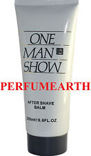 ONE MAN SHOW AFTER SHAVE BALM UNBOX 6.8 OZ FOR MEN BY JACQUES BOGART