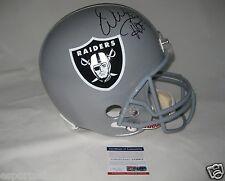 WARREN SAPP signed/autographed OAKLAND RAIDERS Full Size Helmet w/HOF 13-PSA ITP