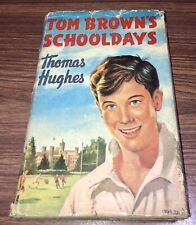 Vintage TOM BROWNS SCHOOLDAYS by Thomas Hughes.  Printed in Czechoslovakia