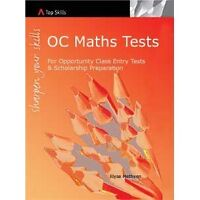 Mathematics Tests (Opportunity Class Entry Tests and for Scholarship test )