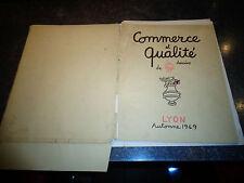 COMMERCE et QUALITE 15 Dessins de Jean EFFEL la Genèse 1949 Precurseur avant 60