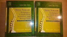 Benzel's Spine Surgery (2 volumes, 2th ed) - Ex Library Book,very good
