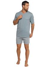 SCHIESSER pijama de hombre corto 100% algodón talla 48-66 S-7XL Ropa dormir