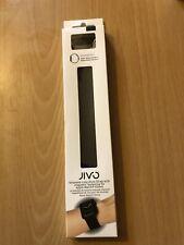Jivo Milanese Loop Strap For Apple Watch 42mm - Series 1, 3 Magnetic - Black